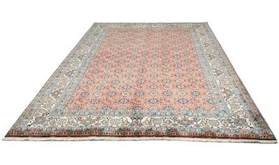 morgenland Wollteppich »Hamadan Teppich handgeknüpft rot«, rechteckig, 12 mm Höhe kaufen