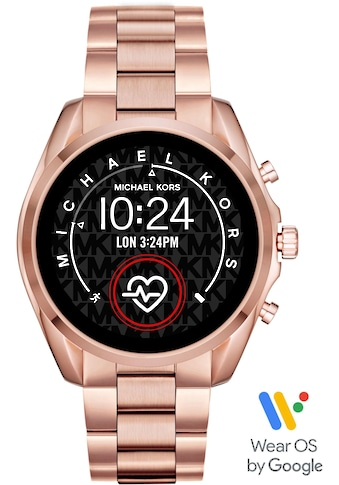 MICHAEL KORS ACCESS Smartwatch »BRADSHAW, MKT5086«, ( mit individuell einstellbaren... kaufen