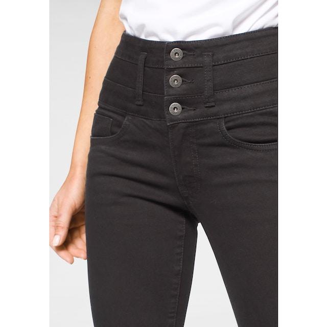 Arizona Bootcut-Jeans »mit extrabreitem Bund«