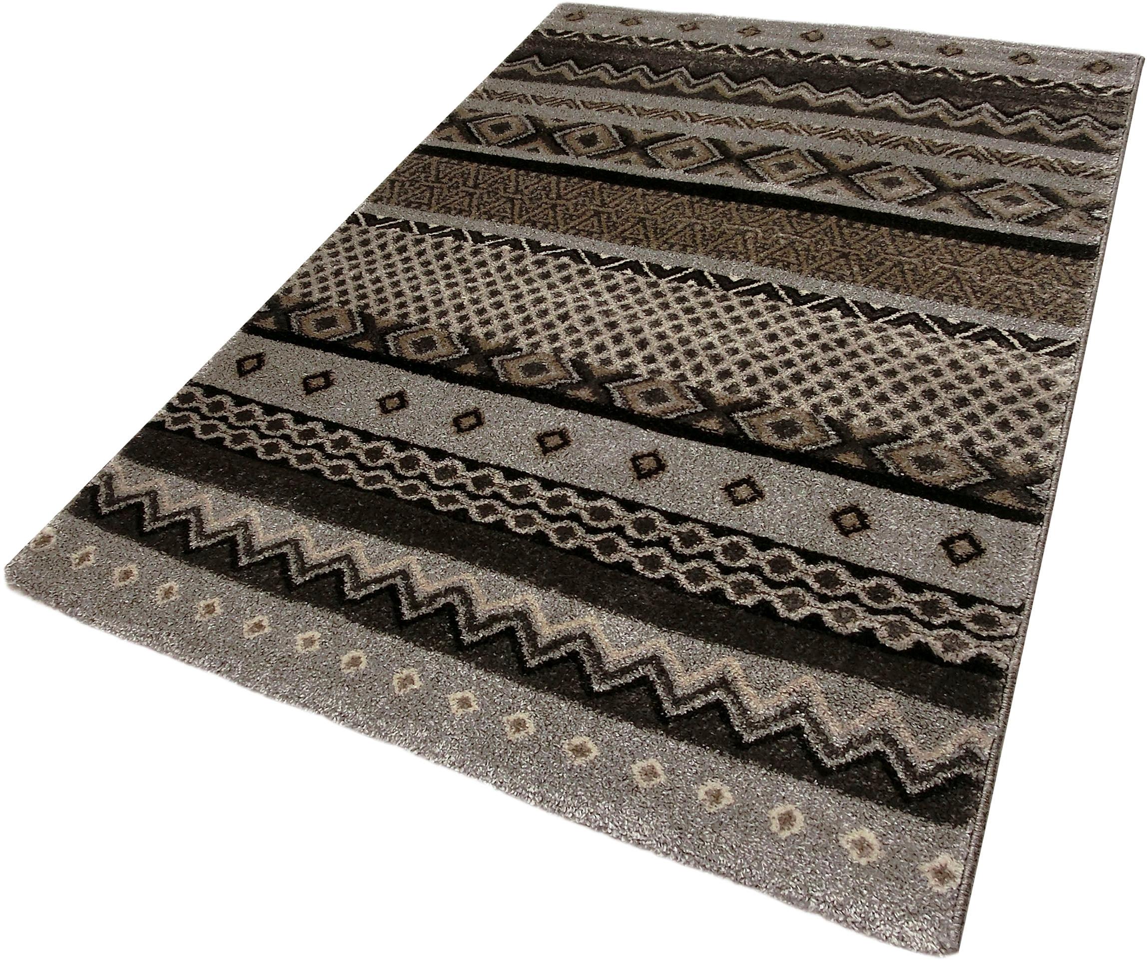 teppich loftline k20427 festival rechteckig h he 20. Black Bedroom Furniture Sets. Home Design Ideas