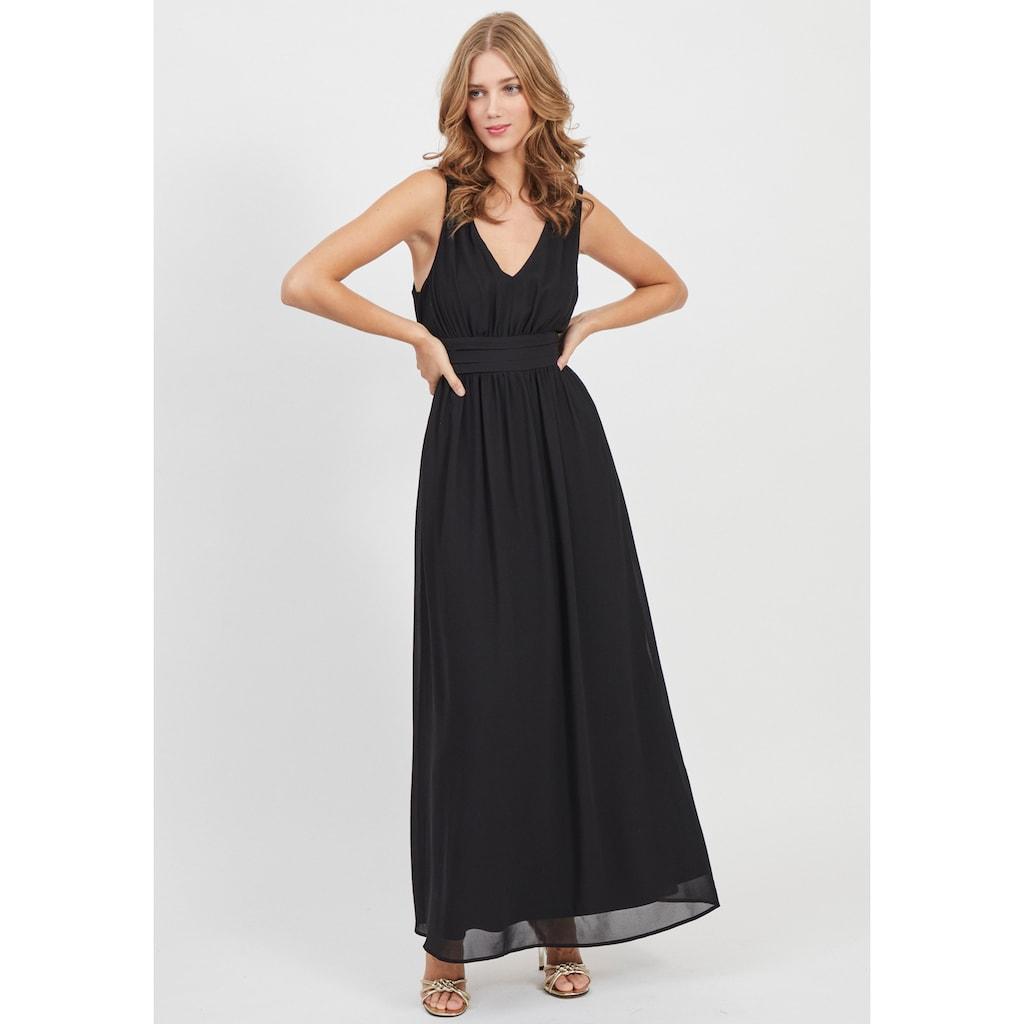 Vila Abendkleid »VIMILINA«, mit breitem Bindeband, Schleife im Rücken