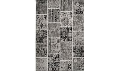 me gusta Teppich »Ariya 425«, rechteckig, 6 mm Höhe, Flachflor, gekettelt, Wohnzimmer kaufen