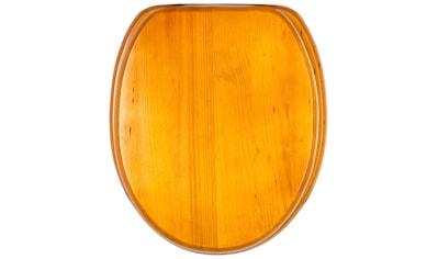 Sanilo WC-Sitz »Holz«, mit Absenkautomatik kaufen