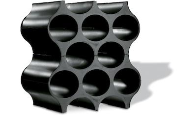 KOZIOL Flaschenregal »SET-UP«, 100% recycelbar, für 10 Flaschen kaufen