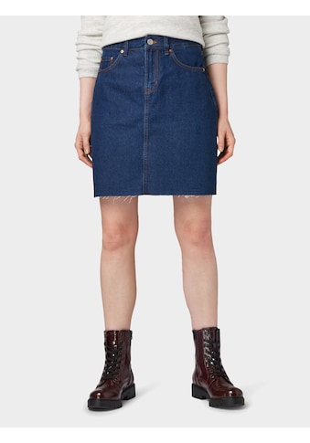 TOM TAILOR Denim Jeansrock »Jeans Minirock« kaufen