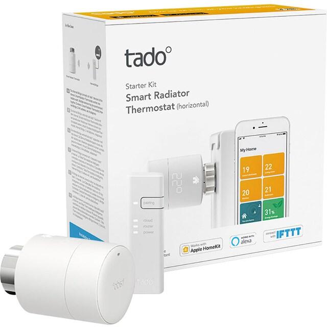 Tado »Starter Kit V3+ mit Bridge und 4 Thermostaten« Smart-Home Starter-Set