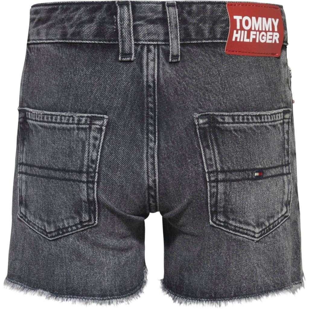 Tommy Hilfiger Jeansshorts »HARPER SHORT«, mit Fransensaum