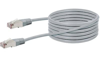 SCHWAIGER CAT5 Netzwerkkabel, Ethernet LAN Kabel, Patchkabel RJ45 »für Switch, Router, TV, etc« kaufen