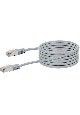 SCHWAIGER CAT5 Netzwerkkabel, Ethernet LAN Kabel, Patchkabel RJ45 »für Switch, Router,... kaufen
