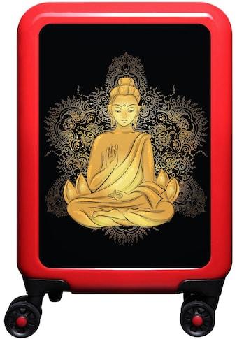 """meinTrolley Hartschalen - Trolley """"Buddha, 55 cm"""", 4 Rollen kaufen"""