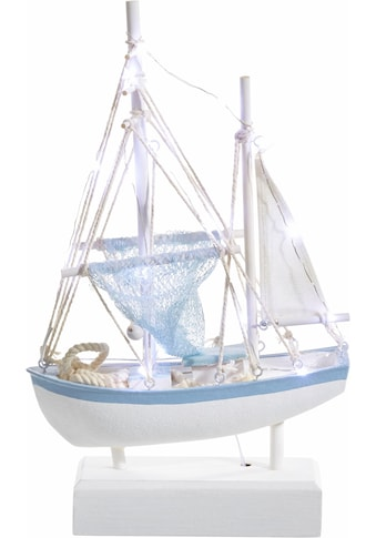 Home affaire Dekoobjekt »Segelboot«, mit LED-Beleuchtung, maritim kaufen
