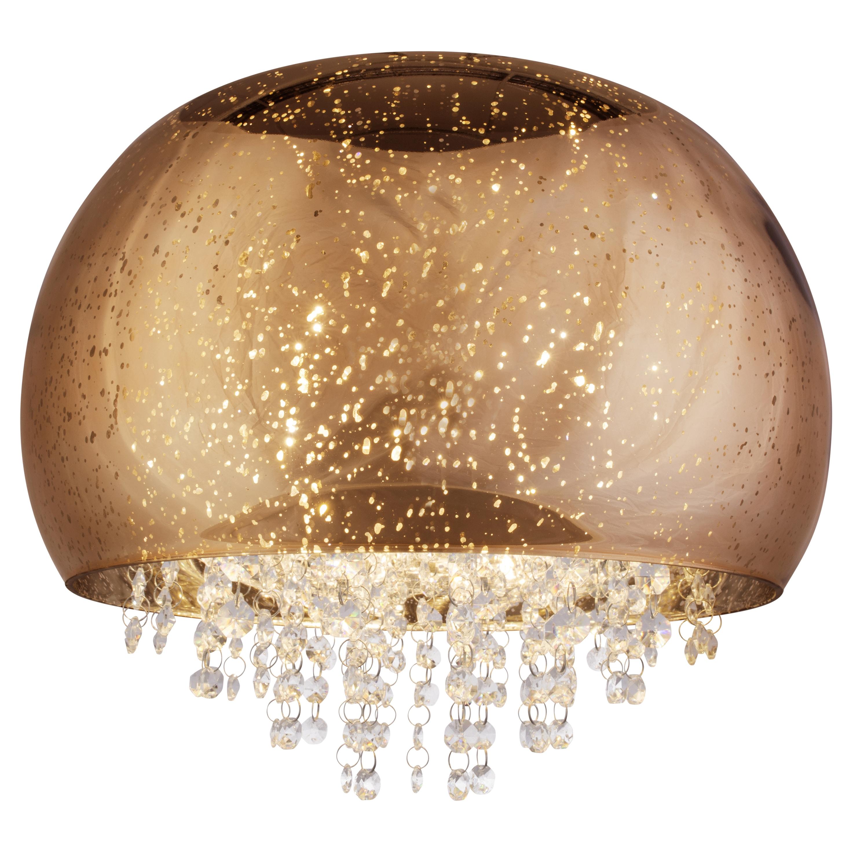 Brilliant Leuchten Brilliance Deckenleuchte 40cm kupfer/chrom