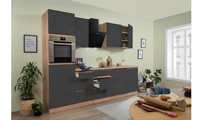 RESPEKTA Küchenzeile »Boston«, mit E-Geräten, Breite 280 cm kaufen