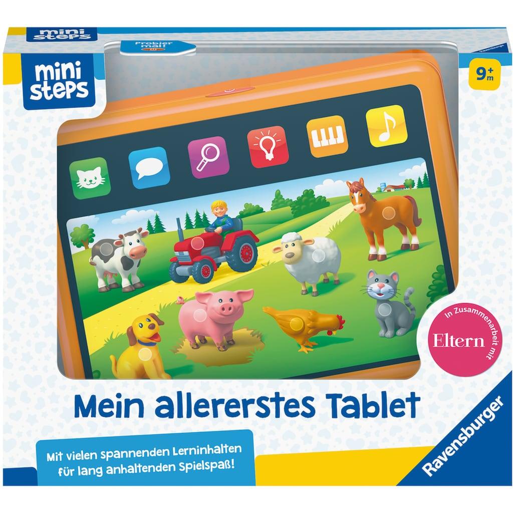 Ravensburger Lerntablet »ministeps® Mein allererstes Tablet«