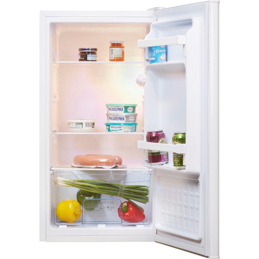 Amica Table Top Kühlschrank, 84,5 cm hoch, 45 cm breit