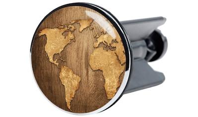 Sanilo Waschbeckenstöpsel »World Map«, Ø 4 cm kaufen