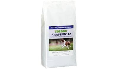 TOP DOG Trockenfutter »Kraftprotz«, (1), Adultfutter, versch. Größen kaufen
