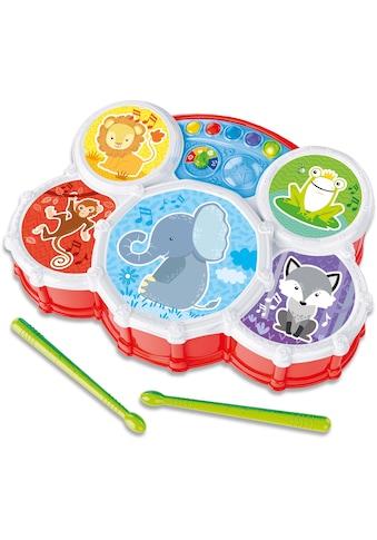 """Clementoni® Spiel - Schlagzeug """"Baby, Interaktives Schlagzeug"""" kaufen"""