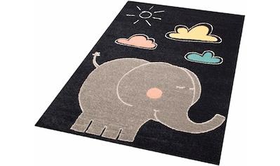Kinderteppich, »Elephant Jumbo«, Zala Living, rechteckig, Höhe 8 mm, maschinell gewebt kaufen