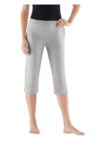 feel good Capri - Hosen aus weichem Single - Jersey (2 Stck.) kaufen