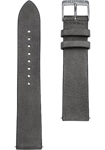STERNGLAS Uhrenarmband »Vintage 20 beton silber, SBA00/311« kaufen