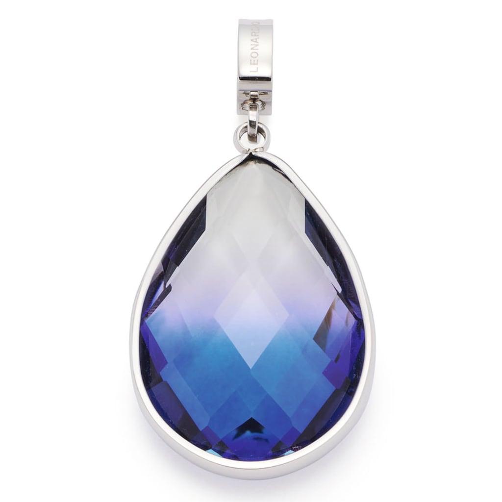 LEONARDO Charm-Einhänger »Petrona Clip&Mix, 019748«, mit Kristallglas