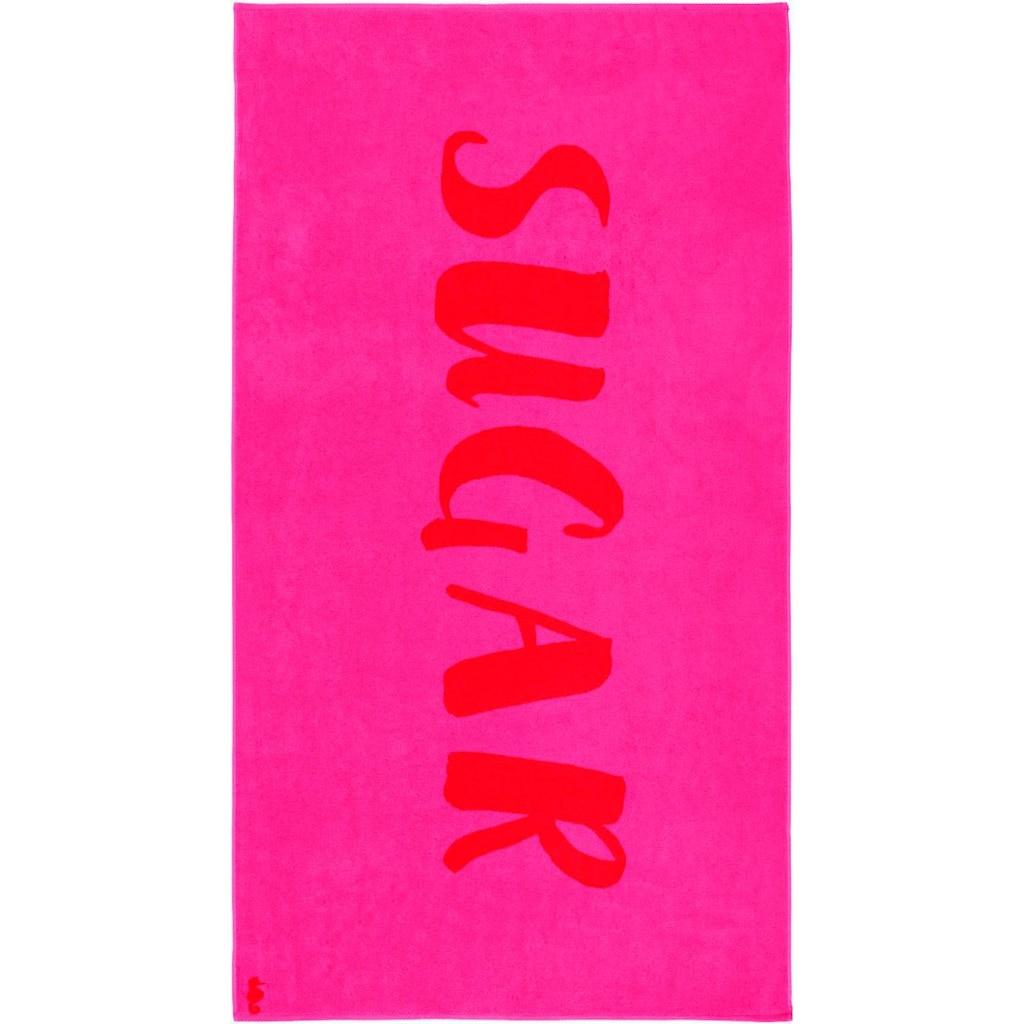 Seahorse Strandtuch »Sugar«, (1 St.), mit Schriftzug