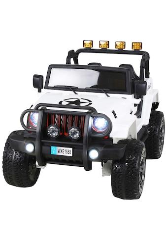 ACTIONBIKES MOTORS Elektroauto »Wrangler Offroad Jeep ALLRAD«, für Kinder ab 3 Jahre, 12 Volt kaufen