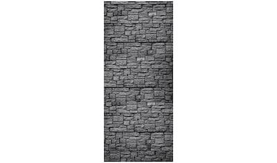 MySpotti Spritzschutz »fresh F2 Steinwand Anthrazit«, 90 x 210 cm kaufen