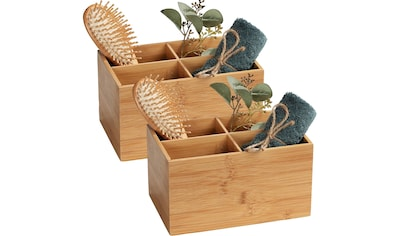 WENKO Badorganizer »Terra«, (Set, 2 St.), aus Bambus kaufen