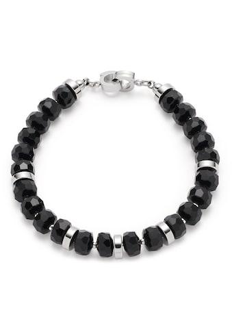 LEONARDO Armband »Donna Clip&Mix, 018300«, mit Glasperlen kaufen