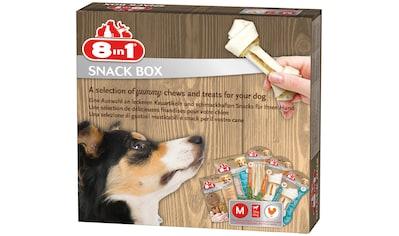 8in1 Hundesnack »Snackbox M«, mit 5 versch. Sorten kaufen