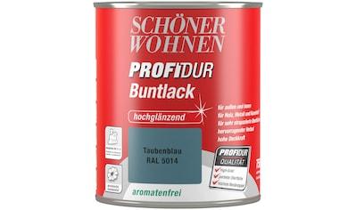 Schöner Wohnen Farbe Buntlack »ProfiDur Hochglänzend, 750 Ml Taubenblau«  Kaufen