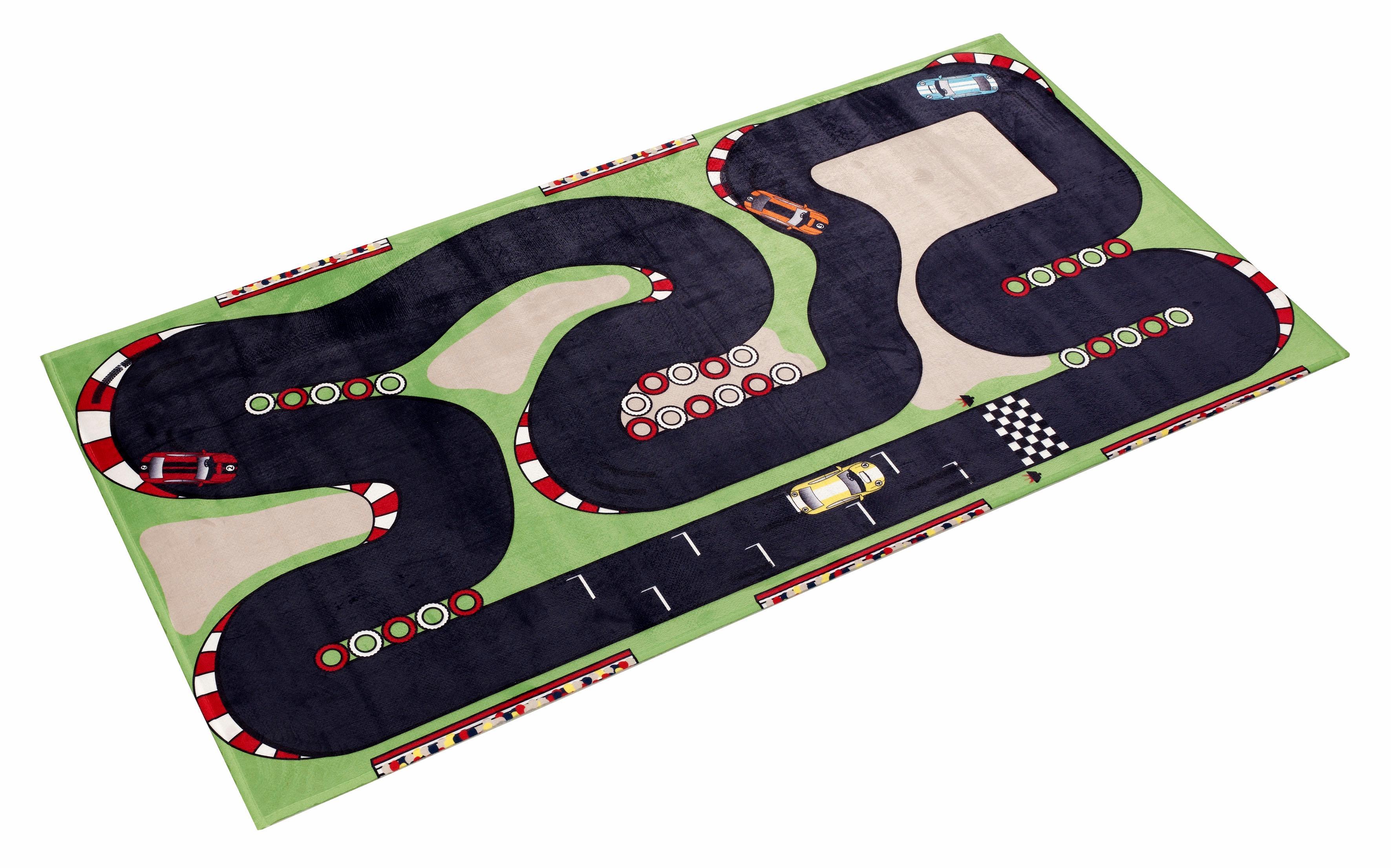 Kinderteppich Lovely Kids 407 Böing Carpet rechteckig Höhe 6 mm gedruckt
