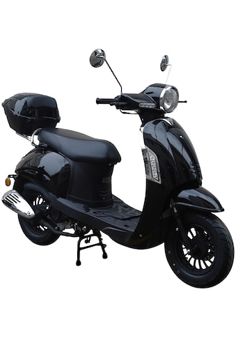 GT UNION Motorroller »Massimo«, 50 cm³, 45 km/h, Euro 4, 3 PS, (Set), inkl. Topcase kaufen