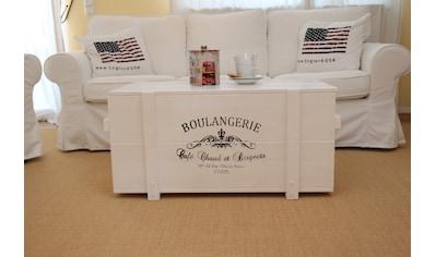 Uncle Joe´s Truhentisch »Boulangerie«, im Vintage-Stil kaufen