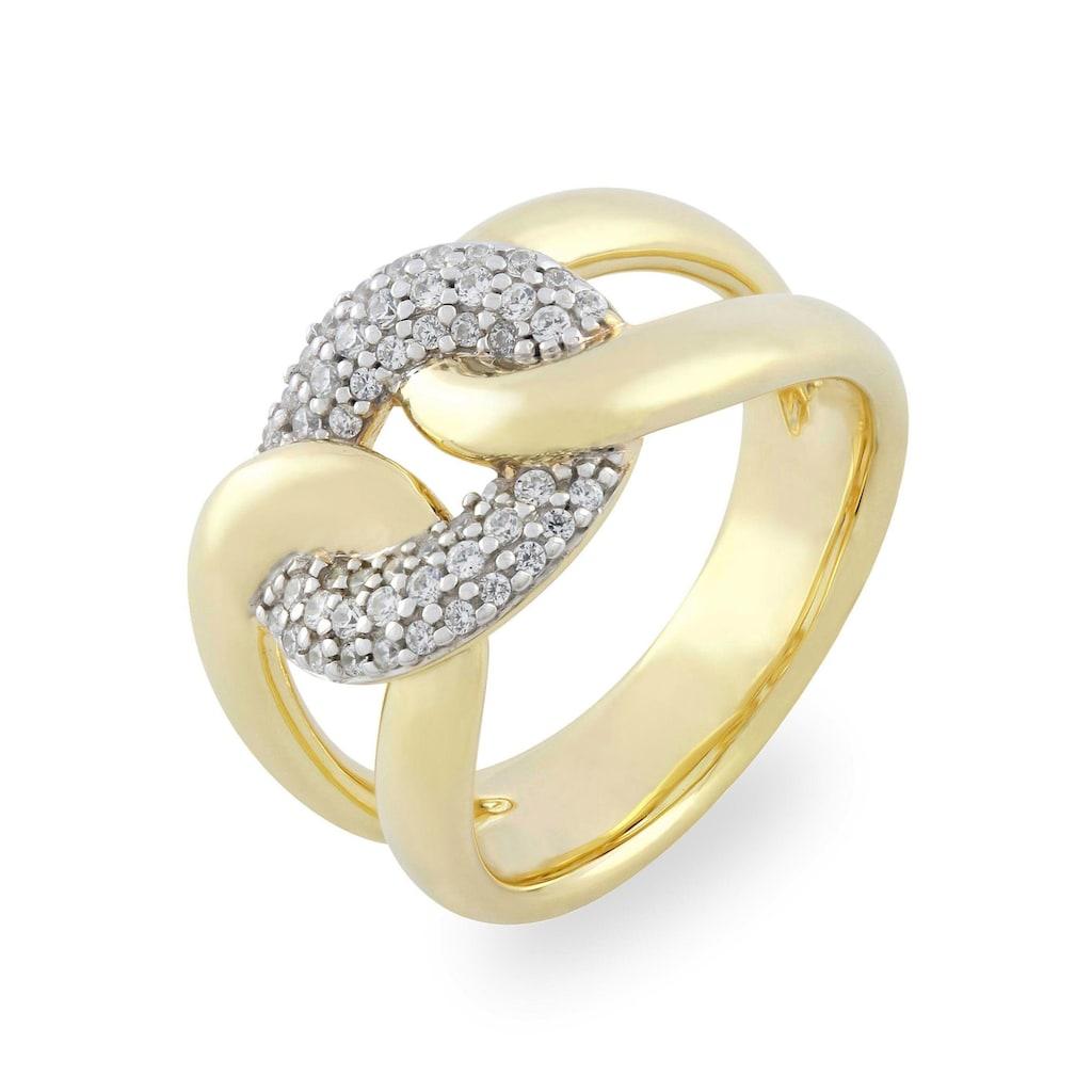 VILMAS Fingerring »True Romance Burning Desire, 4028146492080, 2097, 2103«, mit Zirkonia