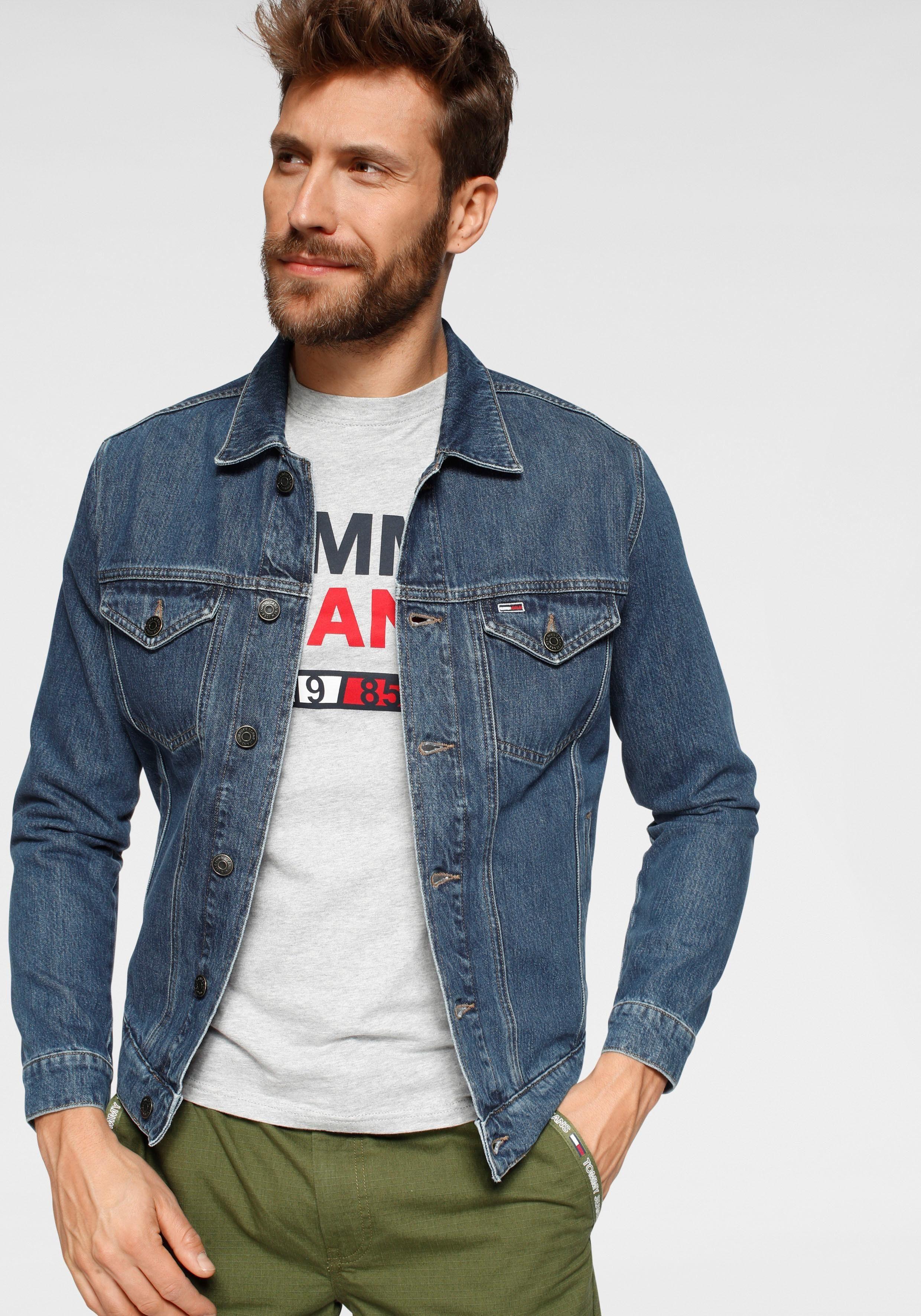 TOMMY JEANS Jeansjacke REGULAR TRUCKER JACKET | Bekleidung > Jacken > Jeansjacken | Tommy Jeans
