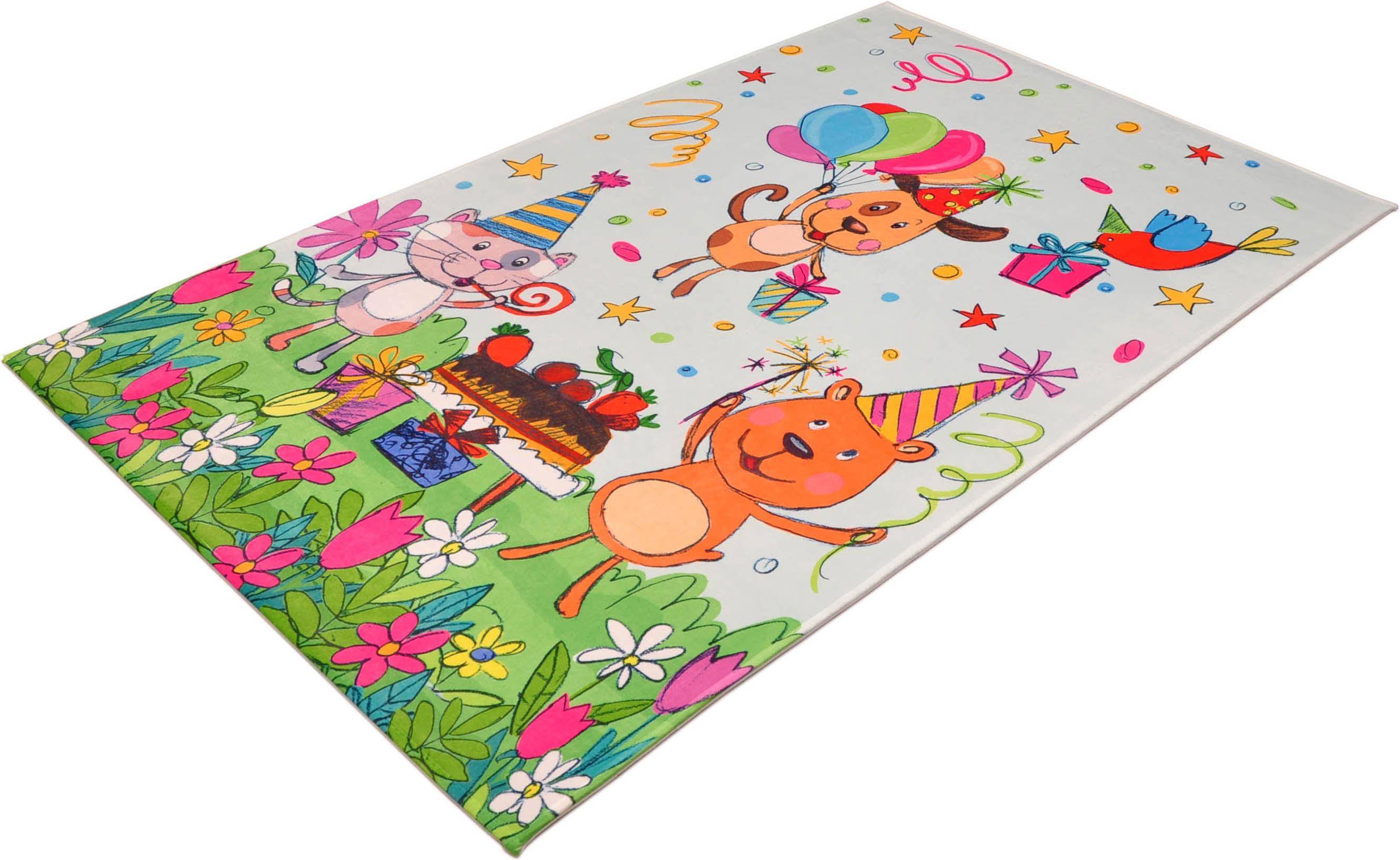 Kinderteppich Lovely Kids 418 Böing Carpet rechteckig Höhe 6 mm gedruckt