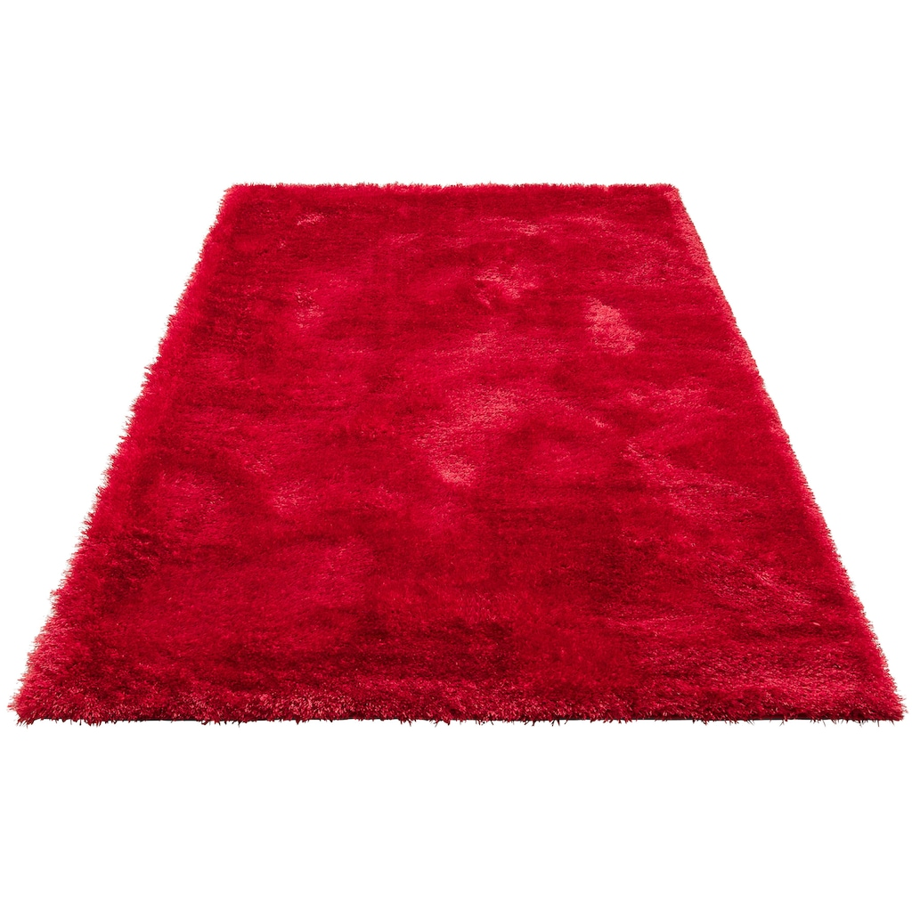 my home Hochflor-Teppich »Mikro Soft Super«, rechteckig, 50 mm Höhe, Besonders weich durch Microfaser, extra flauschig