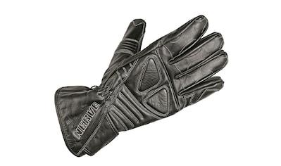 NERVE Motorradhandschuhe »Dark Leather«, Polsterung über den Fingerknöcheln kaufen