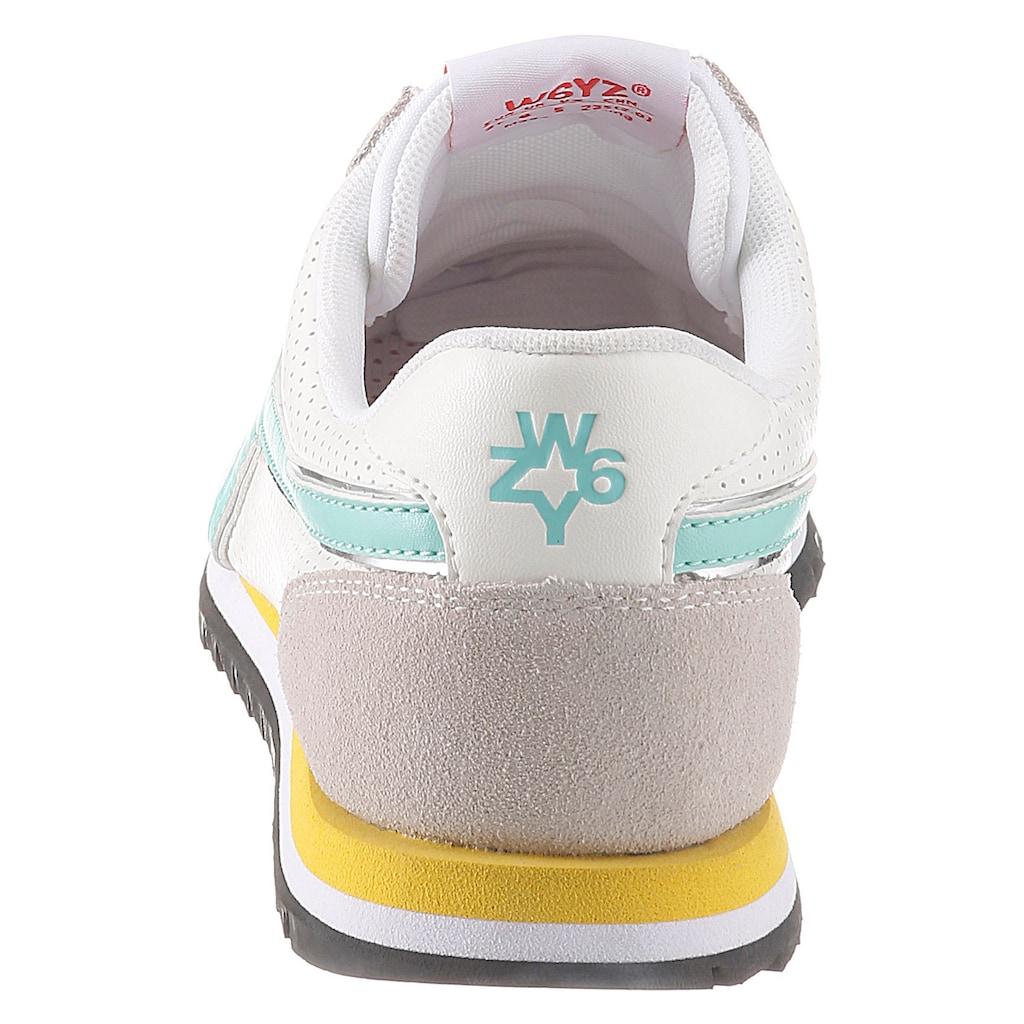 W6YZ Sneaker, im Materialmix
