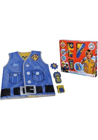 SIMBA Spielzeug-Schutzweste »Feuerwehrmann Sam, Polizei Einsatzset«, mit Walkie-Talkie... kaufen