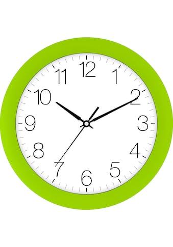 EUROTIME Wanduhr »Trend giftgrün, 88800-09-2« kaufen