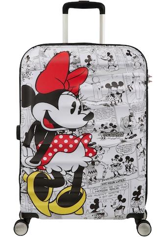 """American Tourister® Hartschalen - Trolley """"Wavebreaker Disney, 67 cm, Minnie White"""", 4 Rollen kaufen"""
