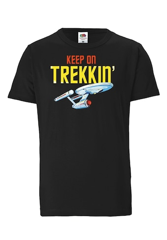 LOGOSHIRT T-Shirt »Star Trek – Keep On Trekkin«, mit lizenziertem Originaldesign kaufen