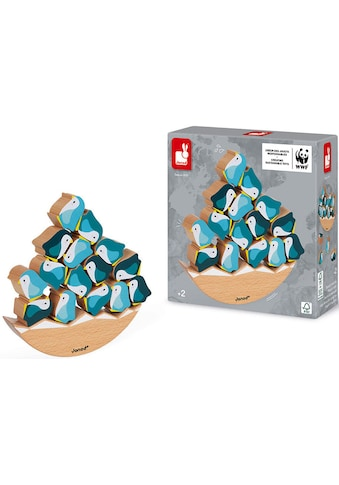 Janod Spiel »WWF® Schaukel-Pinguine«, FSC®-Holz aus gewissenhaft bewirtschafteten Wäldern kaufen