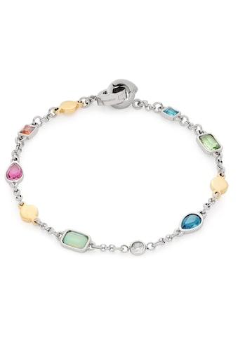 LEONARDO Edelstahlarmband »Rimini Darlin's, 018035«, mit Kristallsteinen kaufen