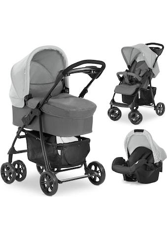Hauck Kombi-Kinderwagen »Shopper Trioset«, 22 kg, inkl. Babywanne und Babyschale kaufen