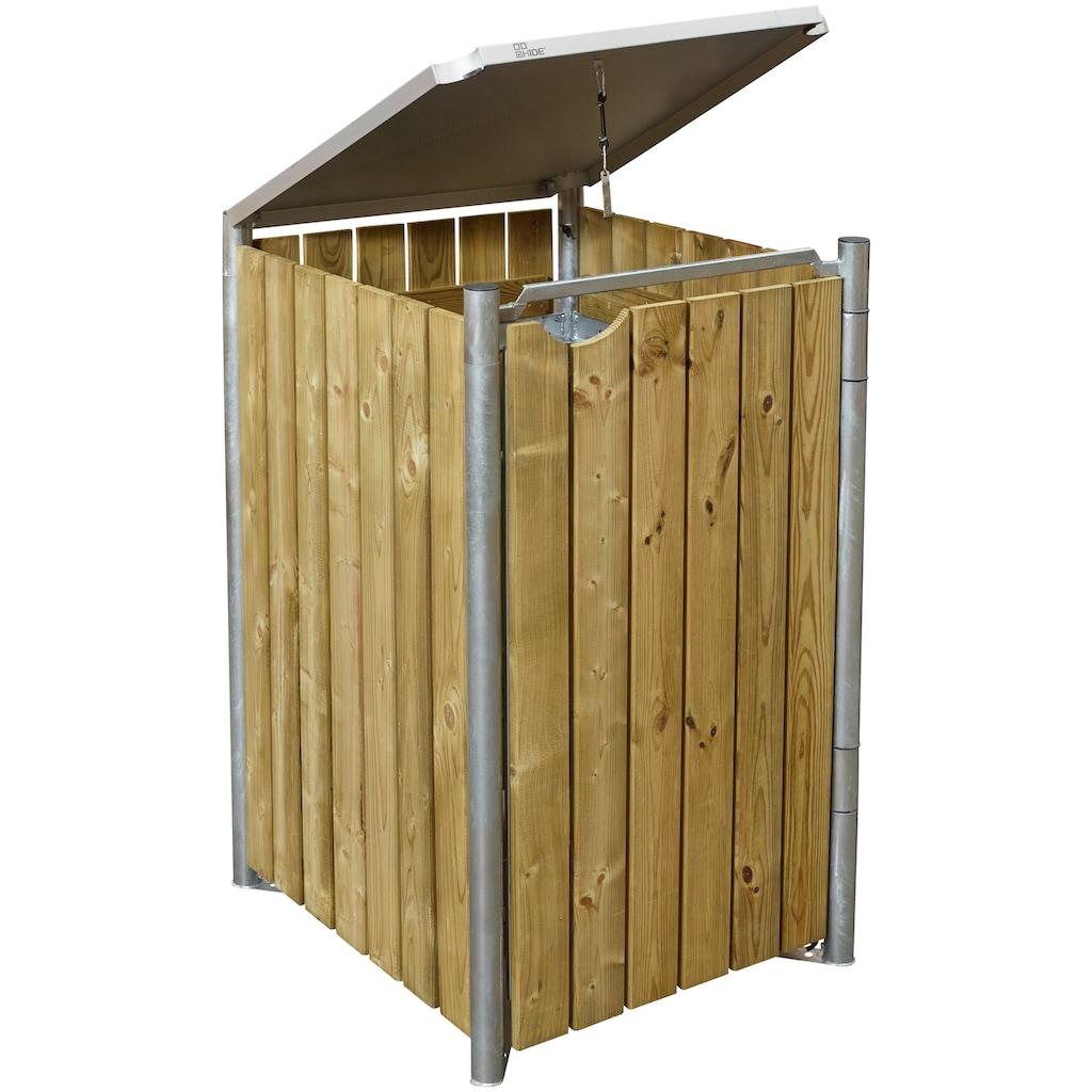 HIDE Mülltonnenbox für 1 x 120 l, natur